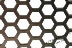 六角孔穿孔铝板工厂