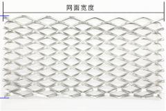 金属扩张网/菱形网外形尺寸规格
