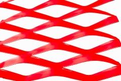 红色烤漆金属扩张网/铝板拉伸网