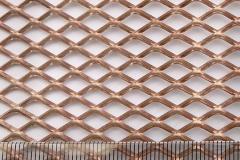装饰拉伸网/铜板装饰网5mm*10mm