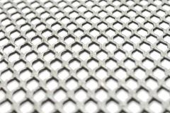 装饰铝网菱形孔轧平/金属扩张网轧平