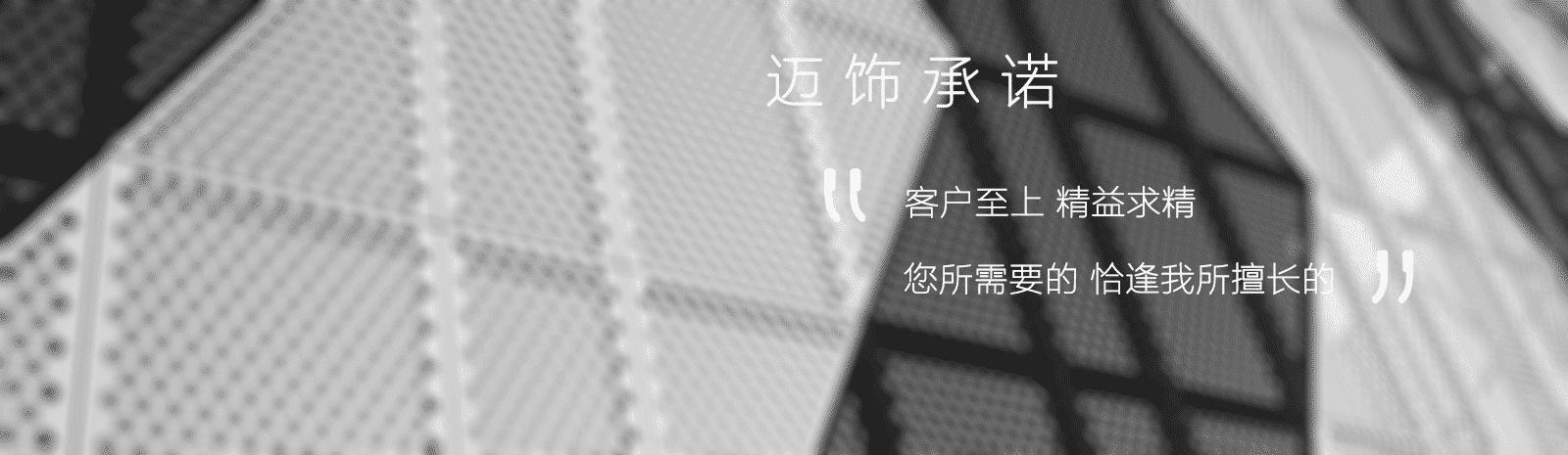 白色穿孔铝板幕墙图片