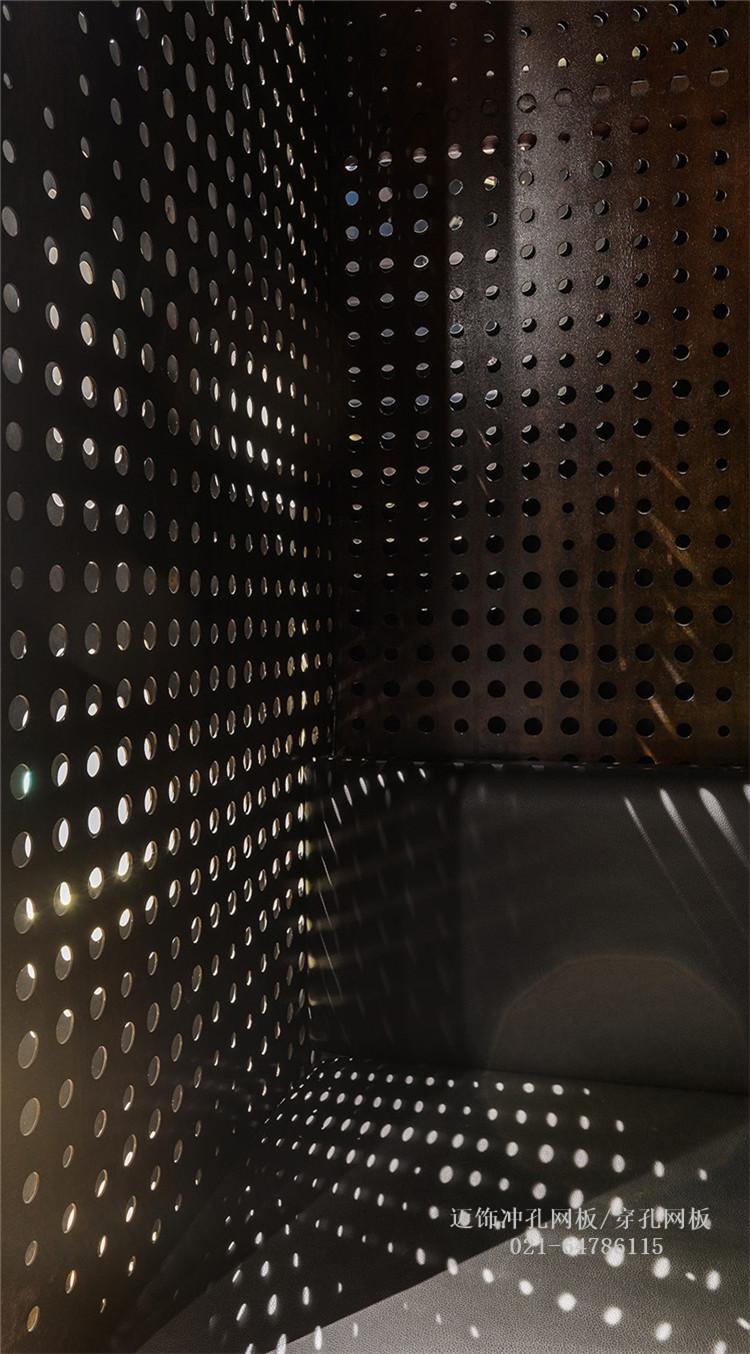重庆酒吧的穿孔网板/冲孔网板