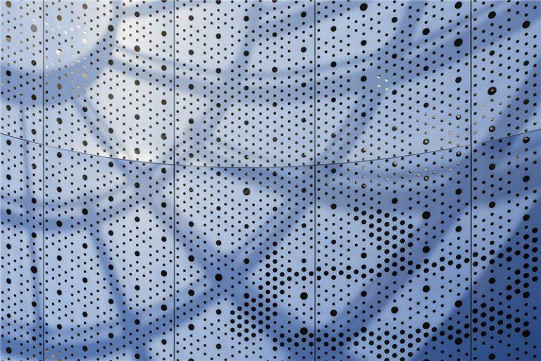 台湾大学的穿孔网板/冲孔网板