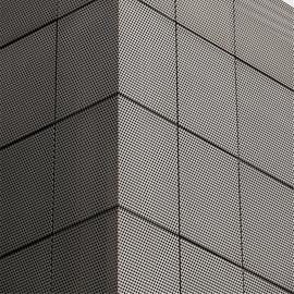 建筑外表皮的铝穿孔网板/穿孔铝板厂家
