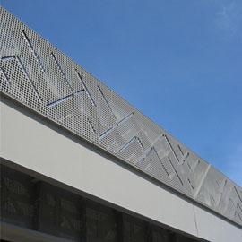 定制穿孔铝板/无锡冲孔板/上海网孔板加工厂家