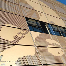 2.5mm厚幕墙穿孔铝板多少钱一平米/哑光穿孔铝板价格