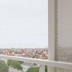 穿孔铝板移动式屏风—布鲁塞尔大都会大楼